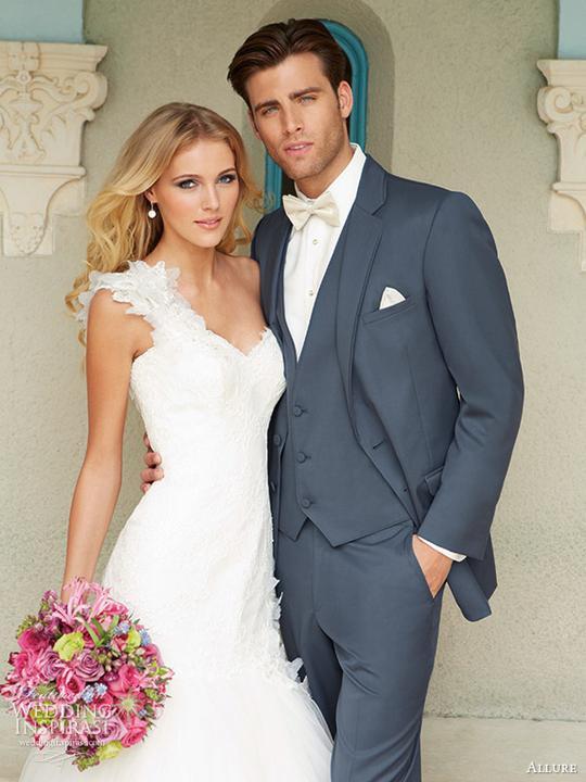 Aby som nezabudla na ženícha :-D - Samotný oblek sa mi nepáči, ale farba by mohla byť...