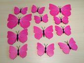 3D motýlci,