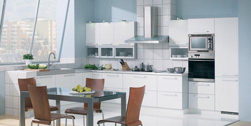 Kuchyně v paneláku - Horní skříňky se mi líbí, takto to chci, ale pouze na jedné straně!!!!