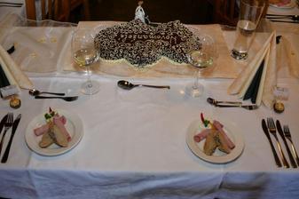 Naše místa vč. druhého dortu