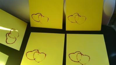 Nazdobené obálky, už jen dát/poslat svatebčanům :-)
