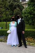 Tehotenské svadobné šaty, veľkosť 38-40, 38
