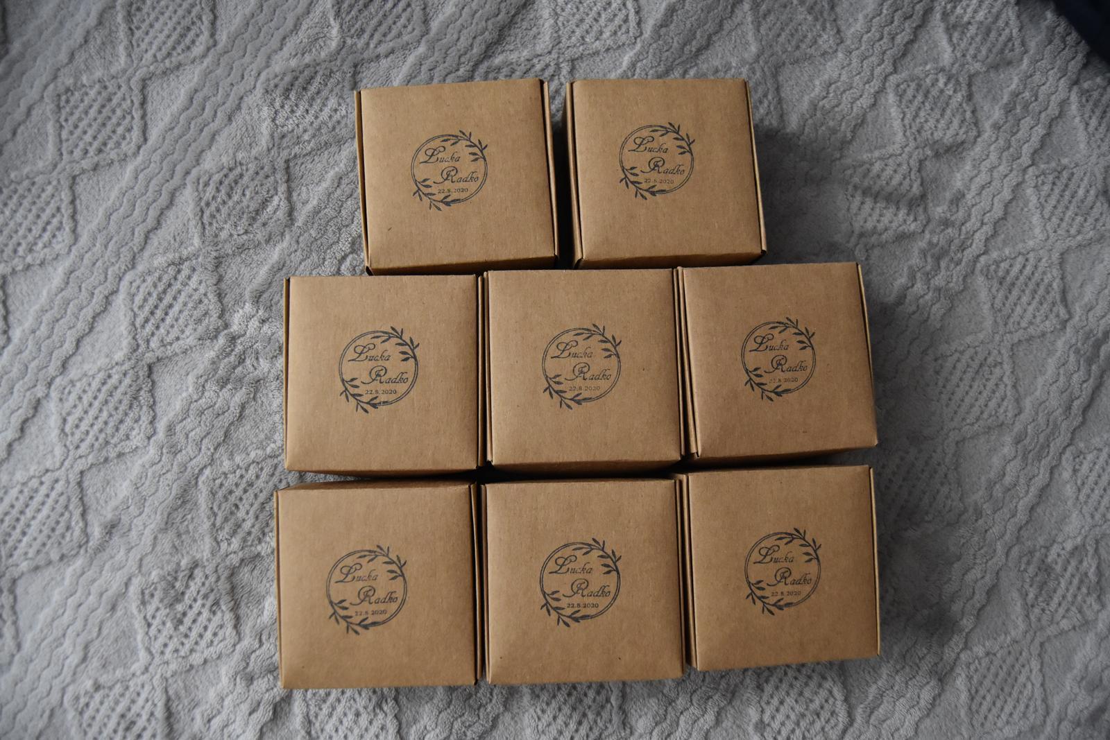 Wedding Time - krabičky pre malé družičky
