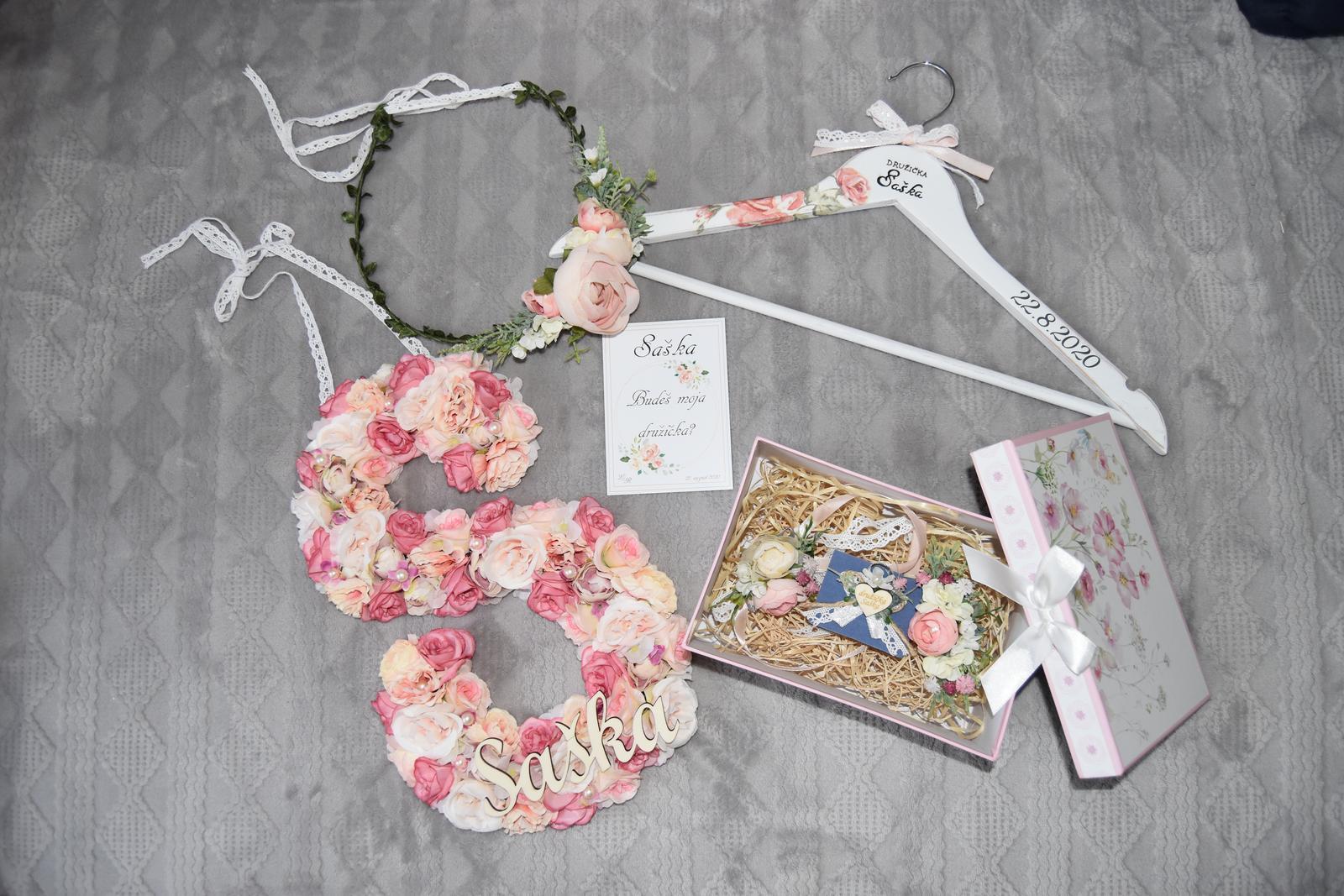 Wedding Time - ♥ Najkrajší balíček pre naj družičku - sestričku ♥