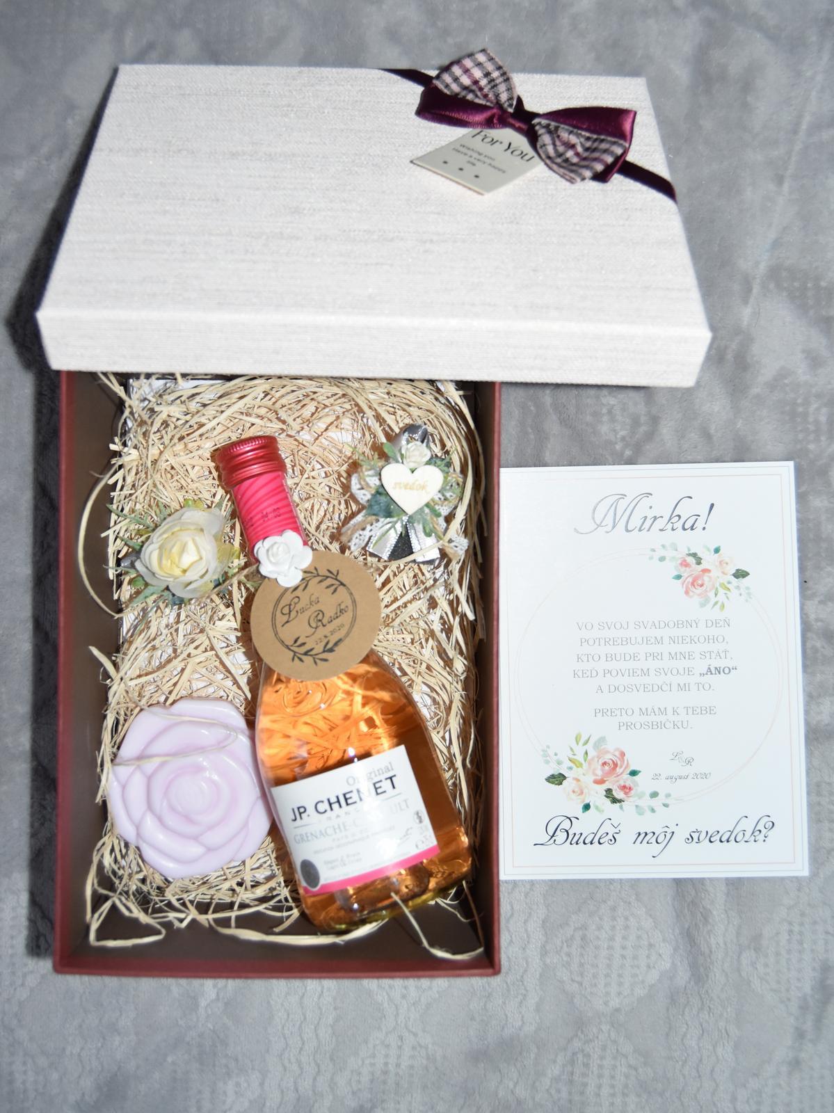 Wedding Time - Krabička pre svedkyňu