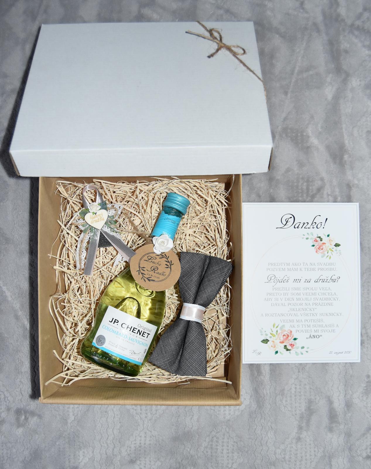 Wedding Time - Krabička pre hlavného družbu