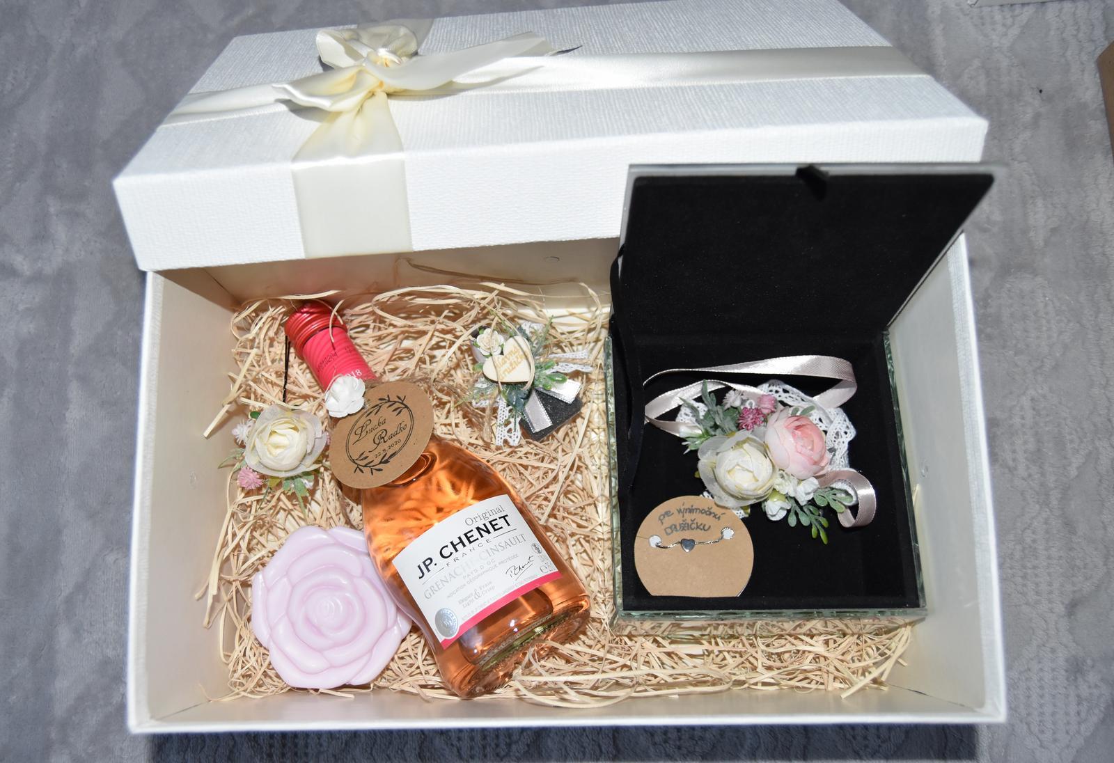Wedding Time - Krabička pre hlavnú družičku