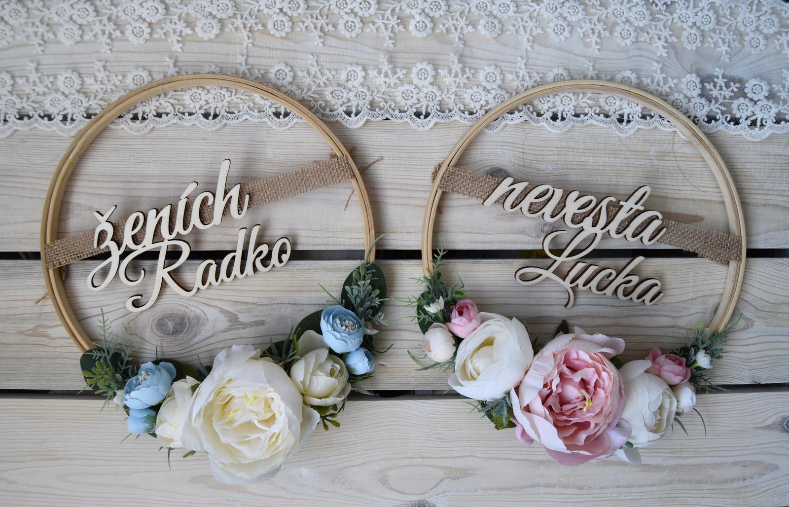 Wedding Time - na vstupné dvere :)