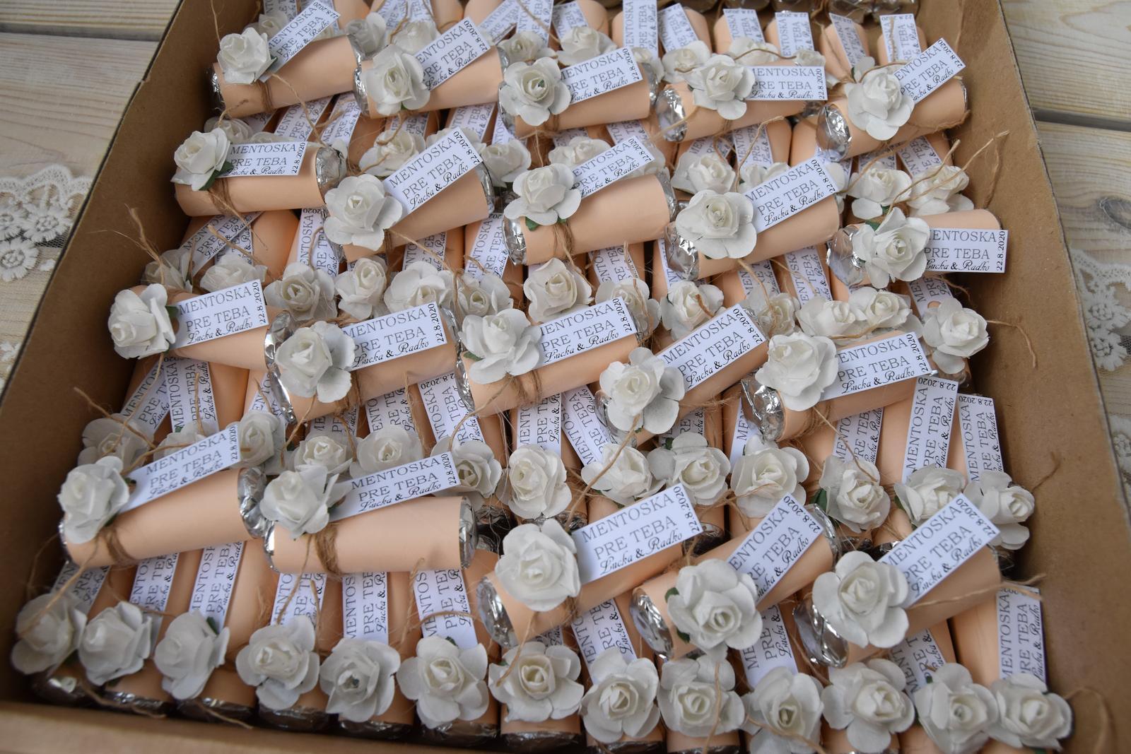 Wedding Time - ďalší darček pre hostí hotový :)