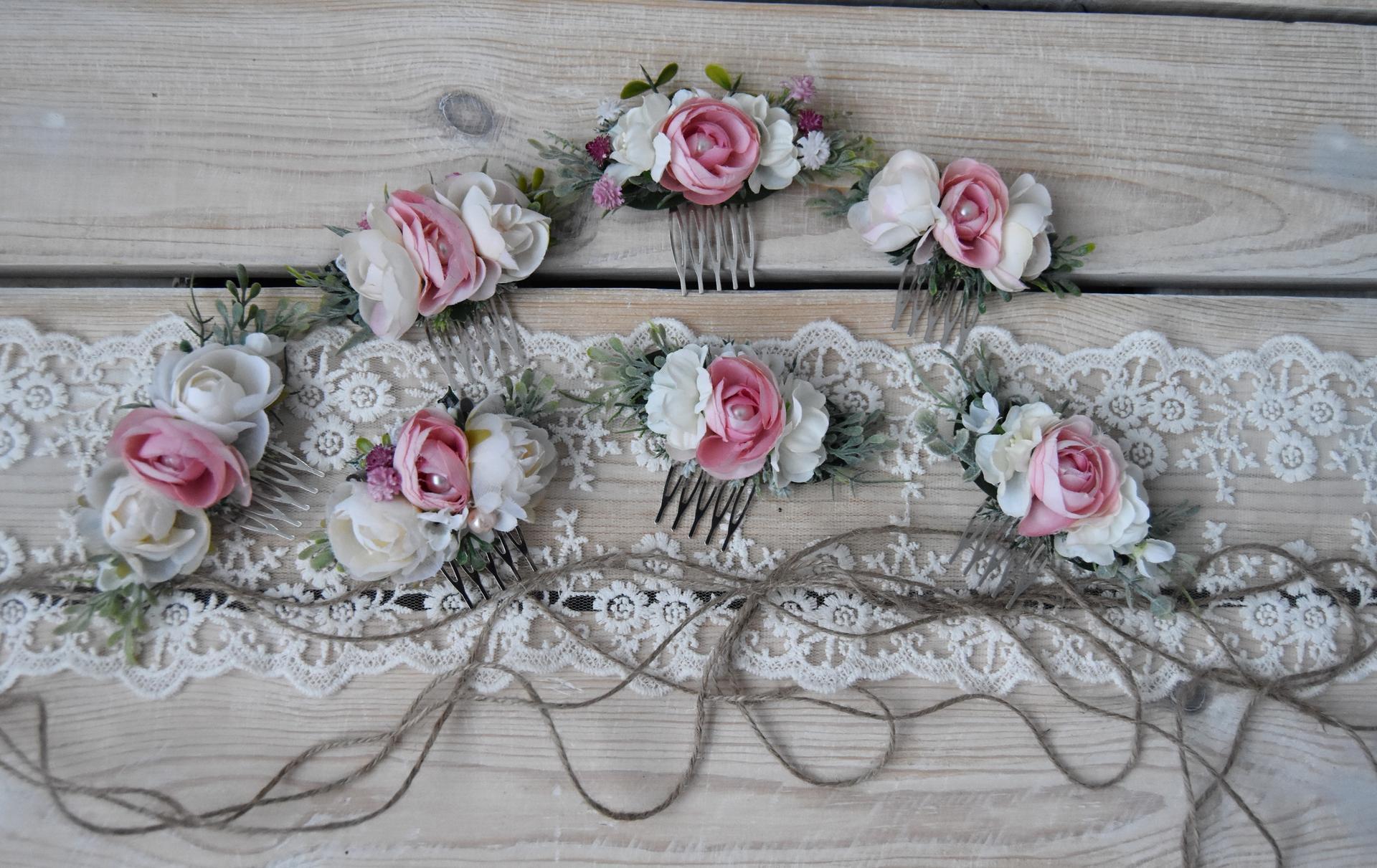 Wedding Time - hrebienky pre družičky :)