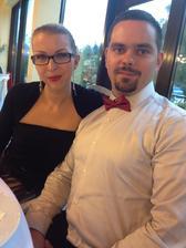 Na svadbe našich výborných kamarátov na druhý deň po našich zásnubách