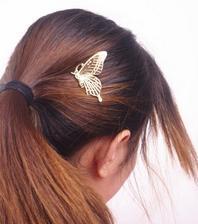motýlci do vlasů