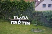 Klára a Martin z polystyrenu,