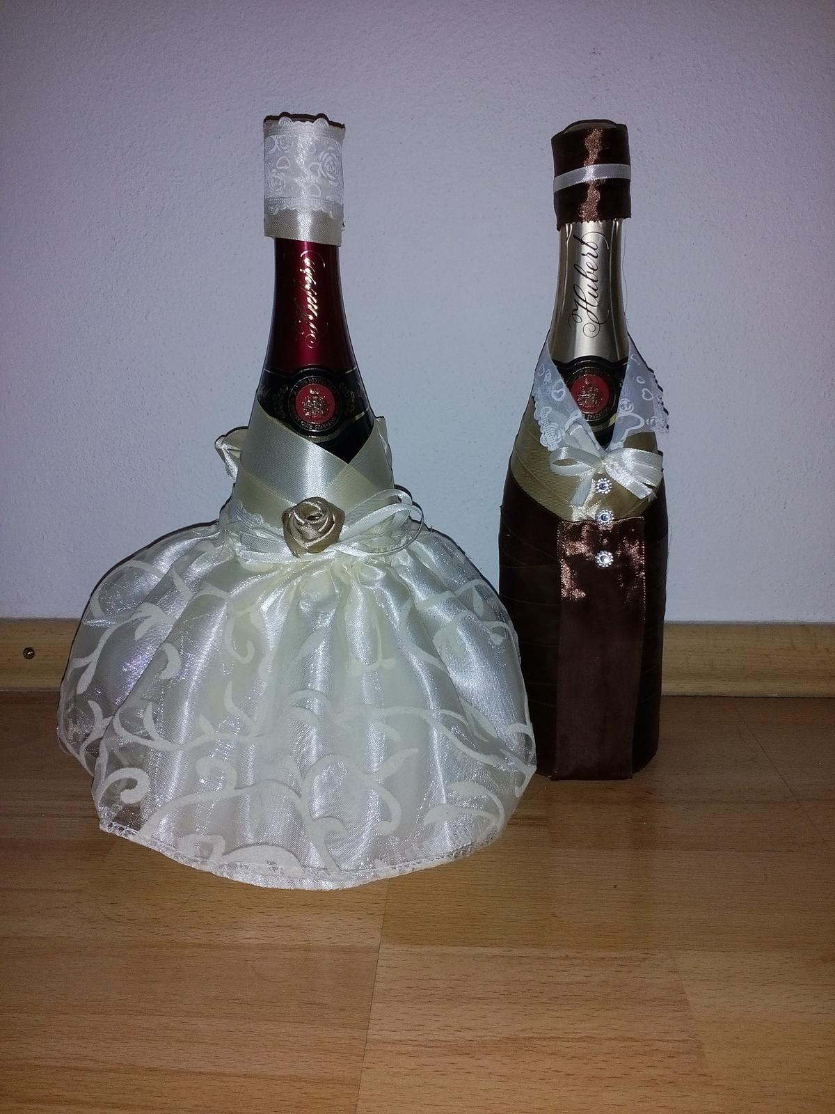 Šampanské Nevesta a Ženích - Obrázok č. 1
