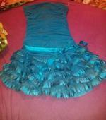 Tyrkysové šaty, M
