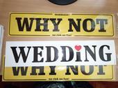 SPZ na svatební auto ,