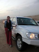 na výletě v poušti