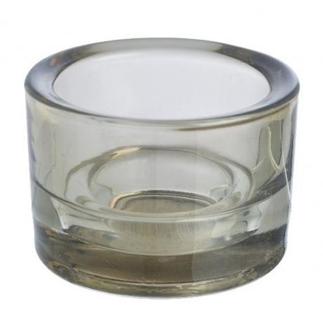 SPAAS svícen z kouřového skla - Obrázek č. 1