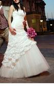 Svadobné šaty, veľkosť 38, 38