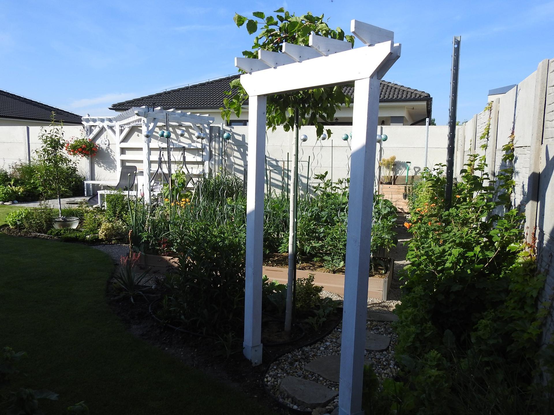 Návrh aj realizácia záhrady v mojom ponímaní - kúsok, ale veľmi podstatný kúsok úžitkovej záhrady