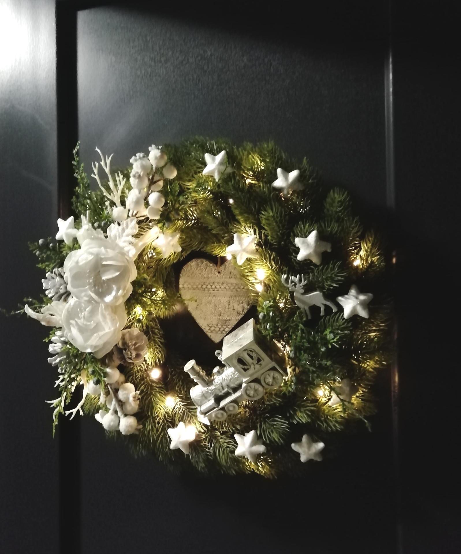 Vianočná výzdoba u nás.