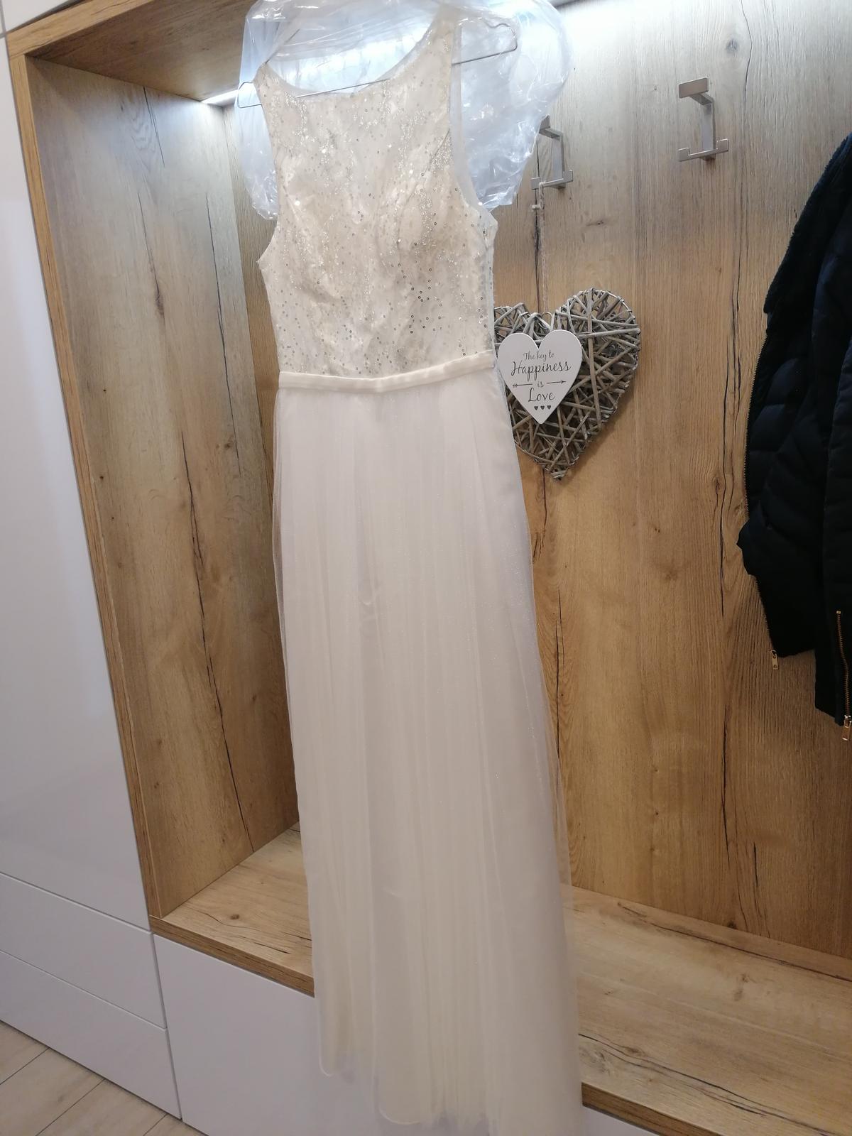 Šaty biele - Obrázok č. 1