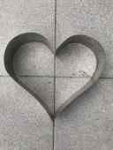 Dortová forma srdce,