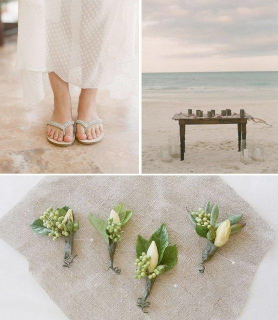 V jednoduchosti je krasa* - inpiracia pre pierka na na moju mini beach wedding