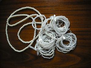 gulicky, plasitowe perly a ine goralky na vyzodbu