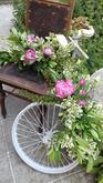 Květinová vazba venkovní dekorace