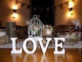 Večrní svatebni tabule