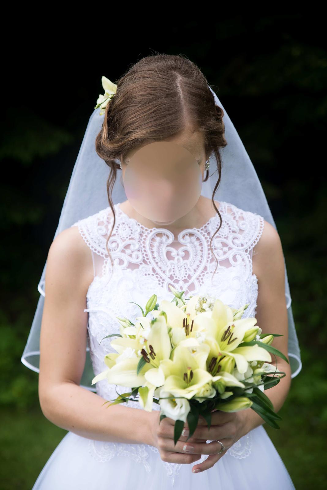 Svadobné šaty 36-38 - Obrázok č. 1