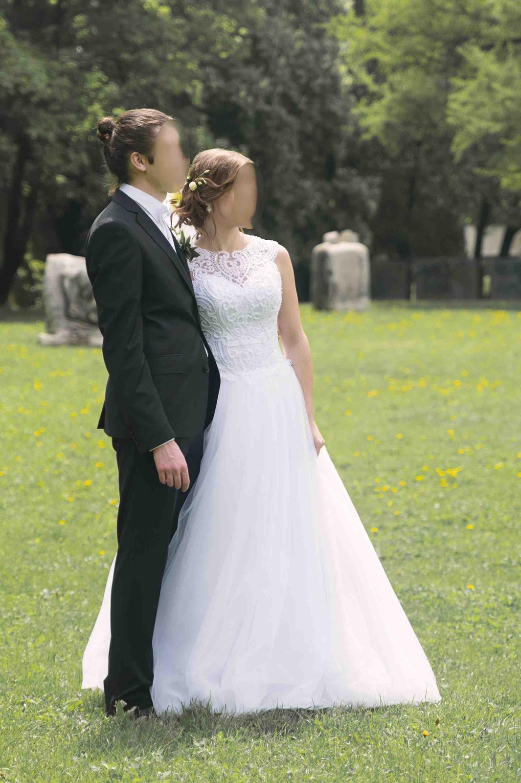 Svadobné šaty 36-38 - Obrázok č. 2