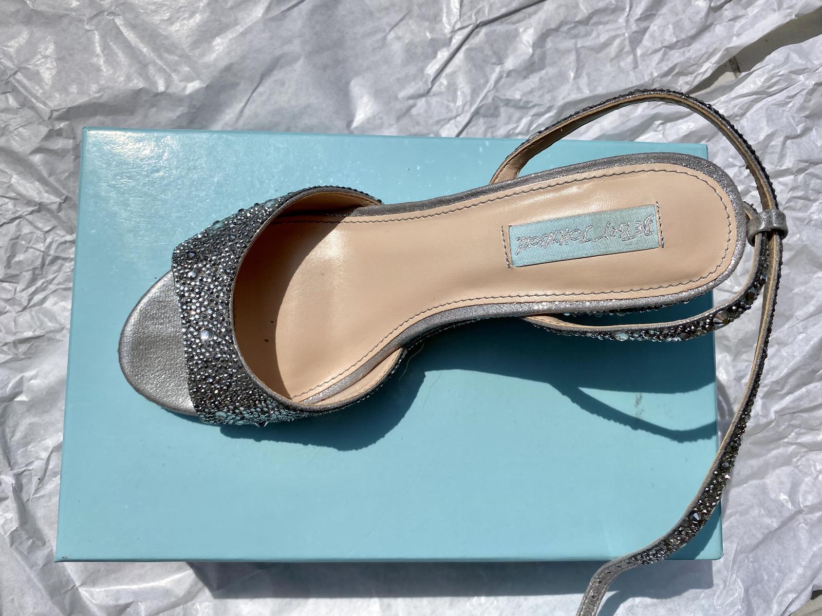 Svatební botičky s kamínky - Obrázek č. 2