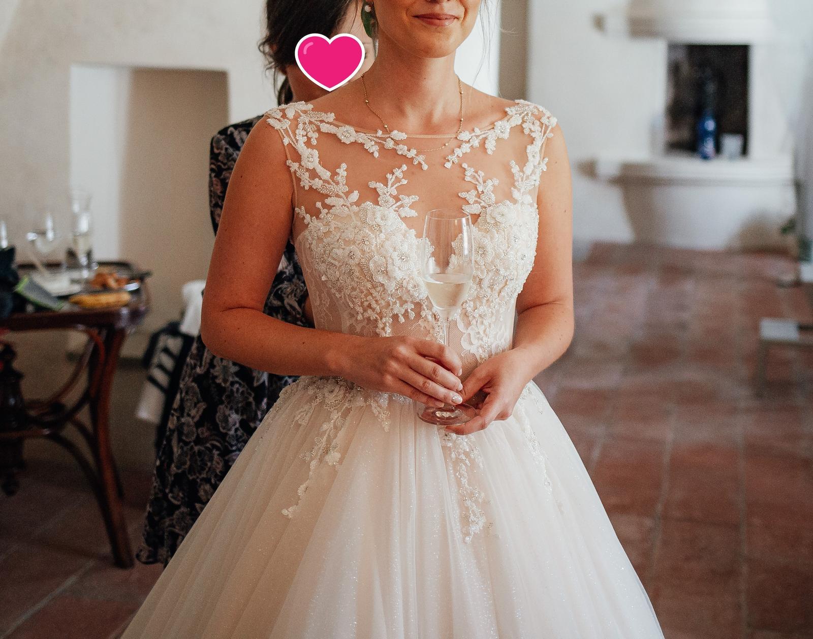 Svatební šaty - Elody Linda - Obrázek č. 3