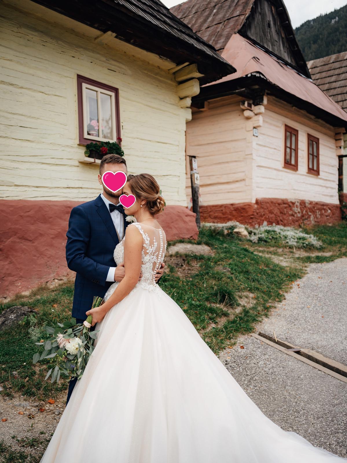 Svatební šaty - Elody Linda - Obrázek č. 1