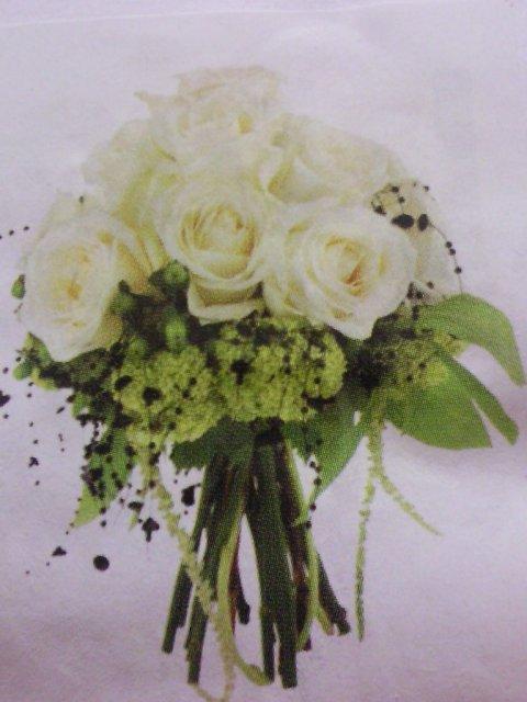 Ako si predstavujem moj svadobny den - kyticu by som chcela z bielych ruzi