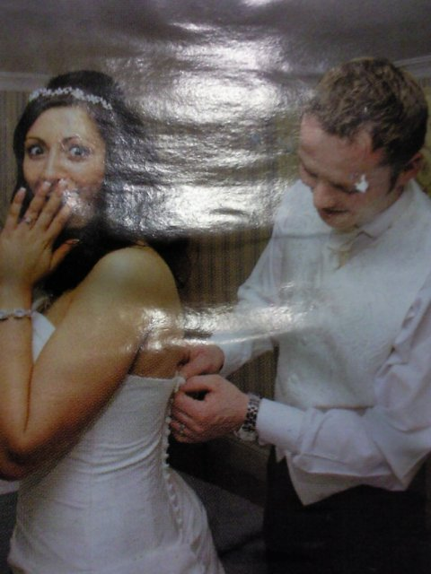 Ako si predstavujem moj svadobny den - tato je uzasna fotka