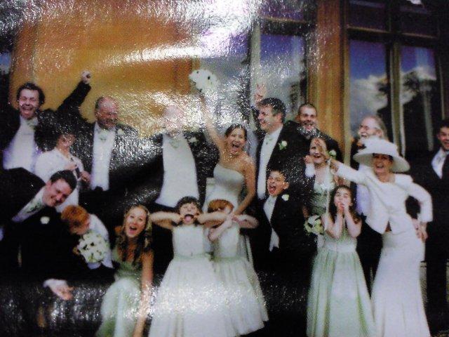 Ako si predstavujem moj svadobny den - blazniva fotka a predsa ma nieco do seba