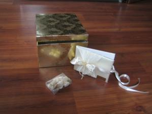 Krabice na přání, ještě dozdobit a je to