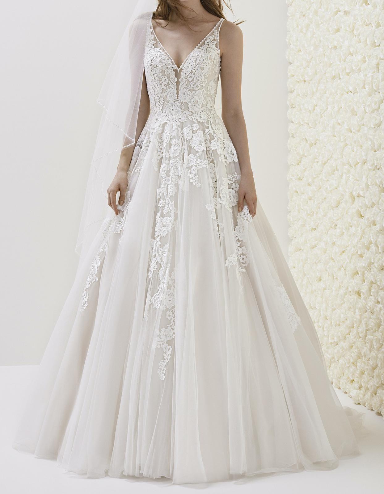 Predám svadobné šaty zn. Pronovias - Obrázok č. 1