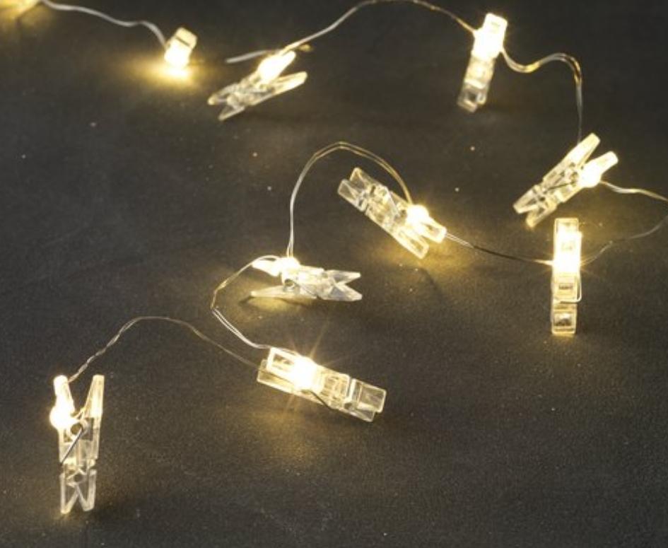 Svítící kolíčky na řetězu na fotky - Obrázek č. 1