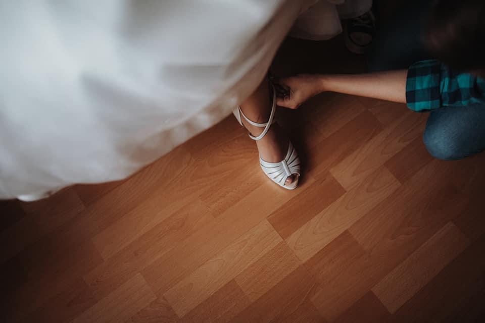 Svadobné topánky šité na mieru - Obrázok č. 1