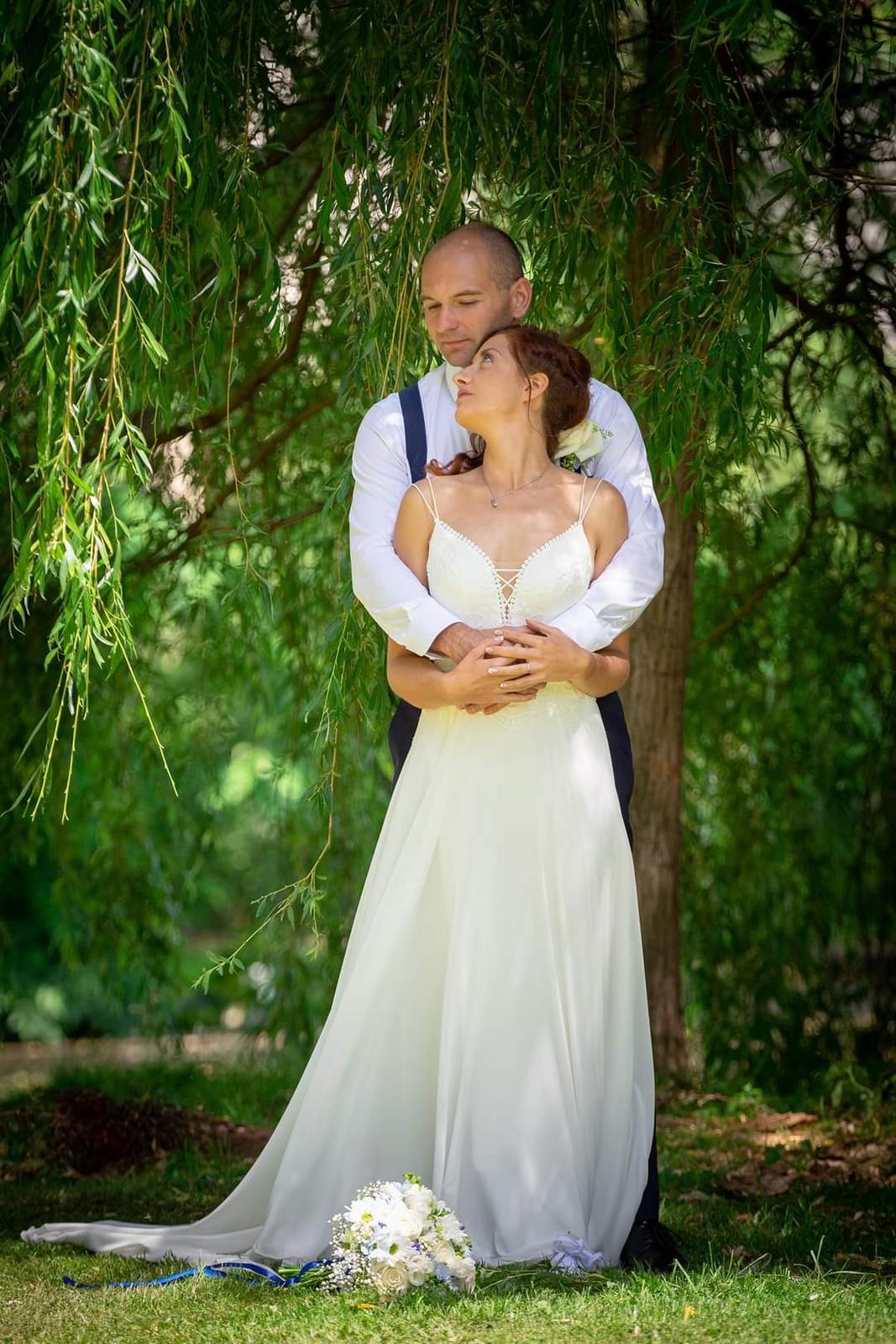 prodám svatební boho šaty - Obrázek č. 1