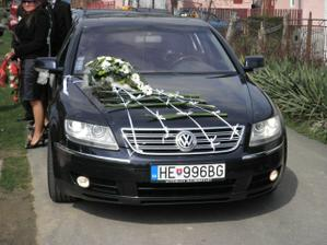 Náš svadobný tátoš - Volkswagen Phaeton