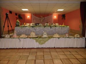 Náš hlavný svadobný stôl