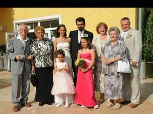s rodicmi, starymi rodicmi a nasimi princeznami