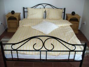 Naše postel na svatební cestě!