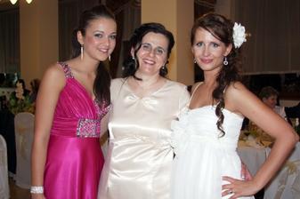 s mamkou a so sesternicou Dominikou