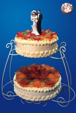 Jana a Vašek - 18. září 2010 v Brně - pěkný dortík